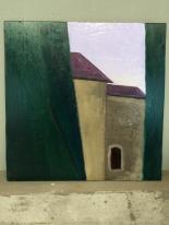 Kirche in Bellinzona_Öl